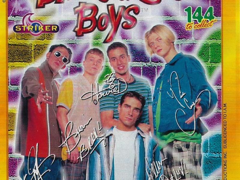 1997 Backstreet Boys Photo Collection Cards