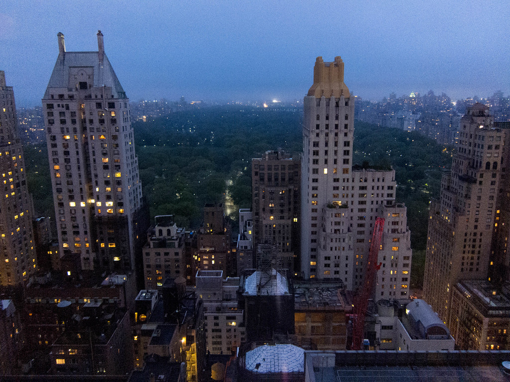 NYC after dusk