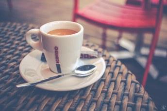 Café en terrase