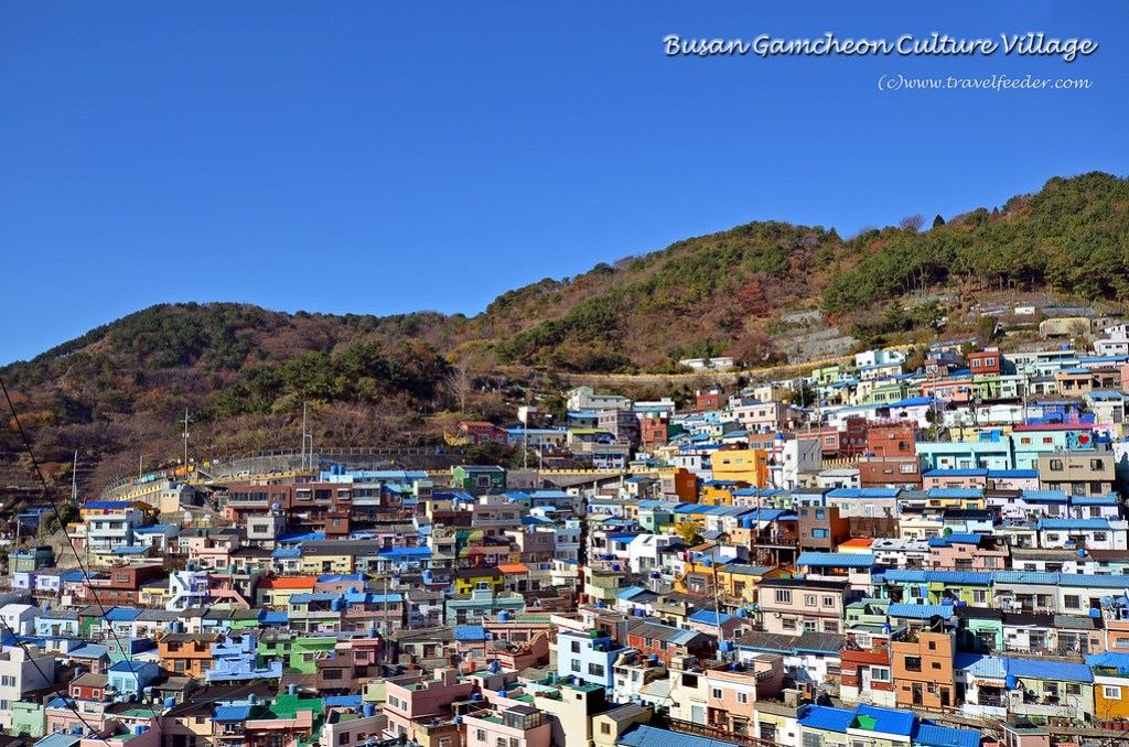 Places to visit in Busan -Busan Gamcheon Culture Village