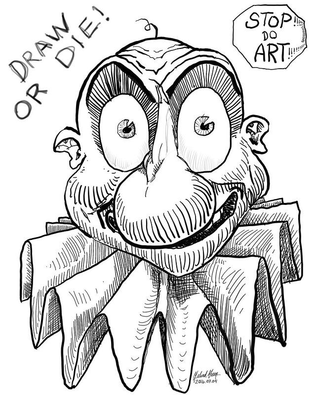 Clown Draw or Die