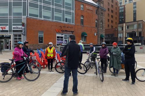 2016 1 Community Bike Ride 04 safety talk_500