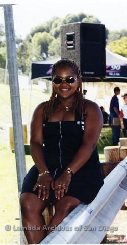 1995 - San Diego LGBT Pride Festival: Photo Taken Near Entertainment Main Stage.