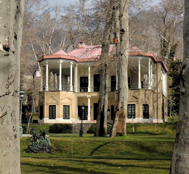 Ahmad Shahi Pavillion, where Reza Pahlavi's kids lived by bryandkeith on flickr