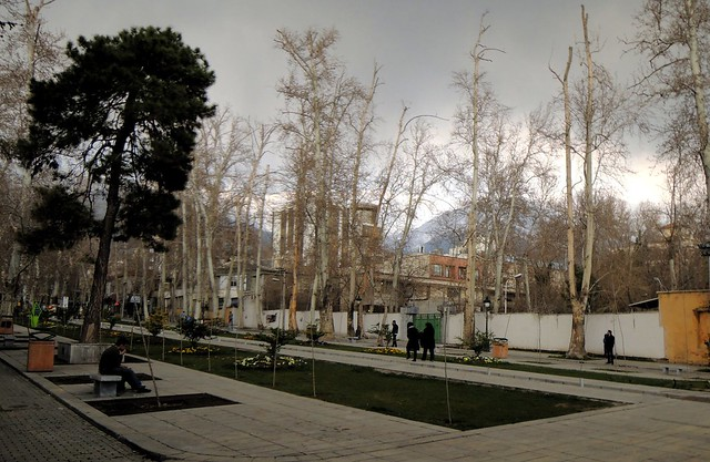 This was the nicest public space we saw in Tehran by bryandkeith on flickr