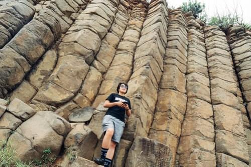Daguoye Columnar Basalt (大菓葉柱狀玄武岩), Penghu