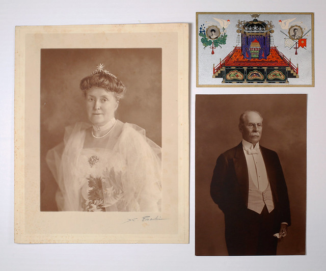 Fan, Postcard, and Photographs from the George W. Guthrie Collection 1913-1917
