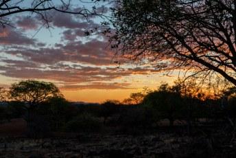 Daar was de zonsondergang ook, en daarmee zat onze dag er weer op.