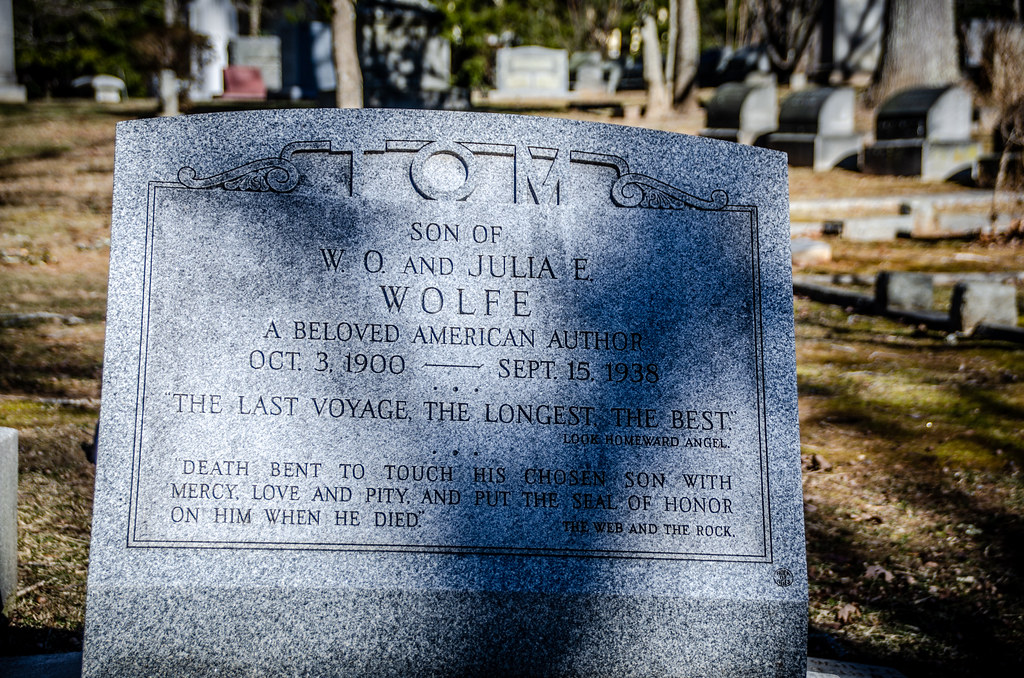 Thomas Wolfe Grave-001