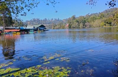 Kodaikanal Lake and Boathouse