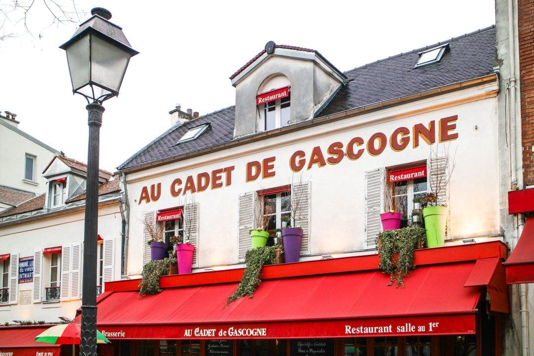 Au Cadet De Gascogne, Montmartre