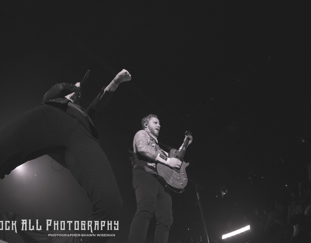 Shinedown  - Fairborn Ohio - Nutter Center