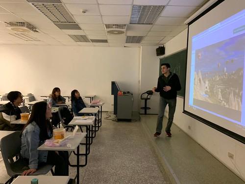元智大學「華語聊天室」引領國際學生認識傳統文化 (3)