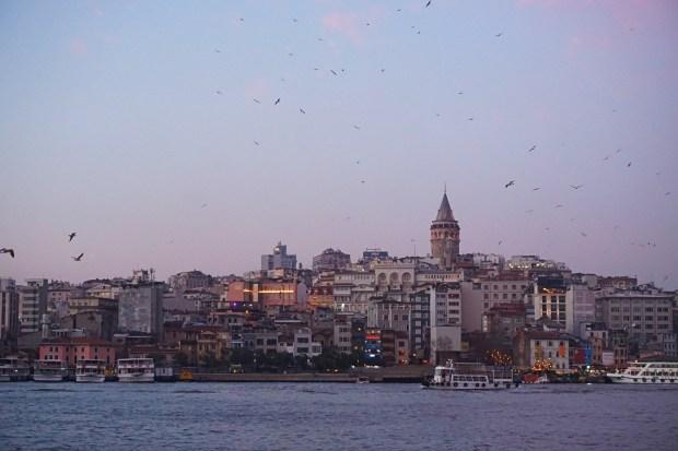 Galata neighborhood, seen from Eminönü