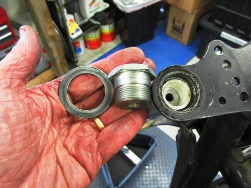 Fork Top Nut Hardware Detail