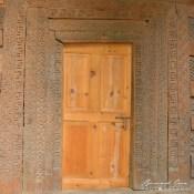 Hunza: Swatiskas on a Ganish mosque © Bernard Grua