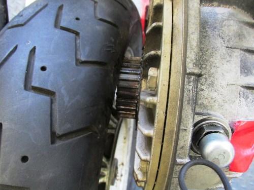 Rear Tire Can't Pass Rear Drive Splines