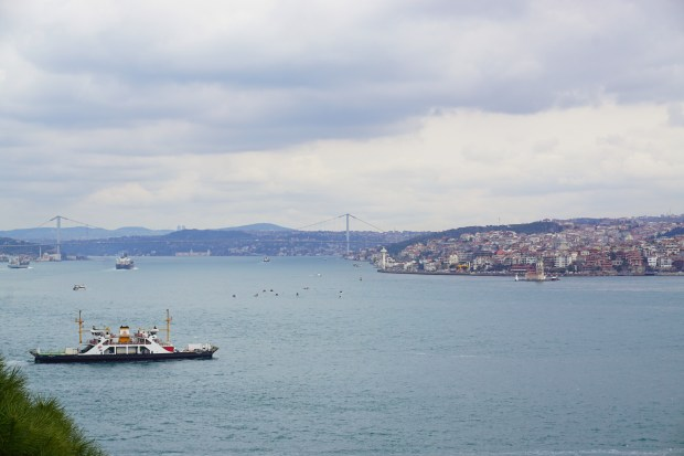 The Bosporus, seen from Topkapı Palace
