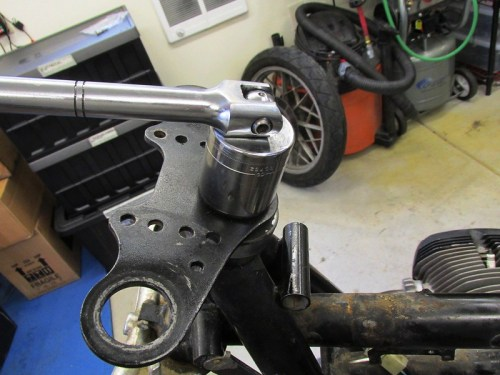 Removing Steering Stem Cap Nut