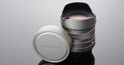 New PENTAX Limited Lens Special Site