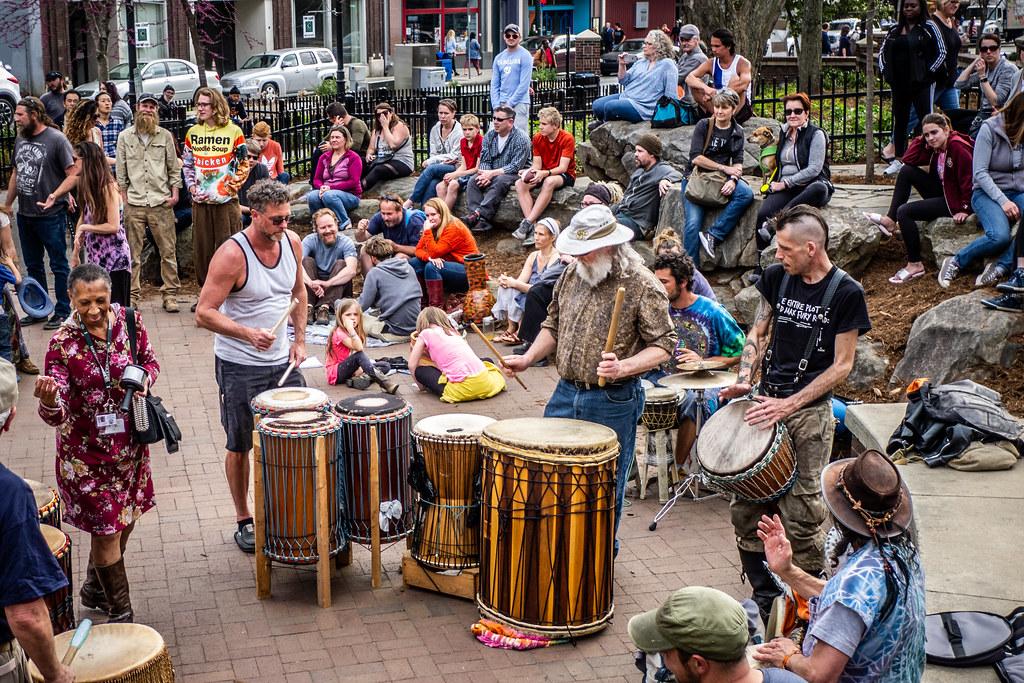Asheville Drum Circle-25