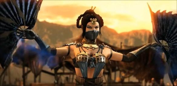 Mortal Kombat X Kitana Intro