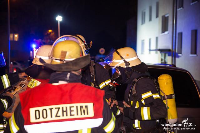 Wohnungsbrand Dotzheim 13.04.19