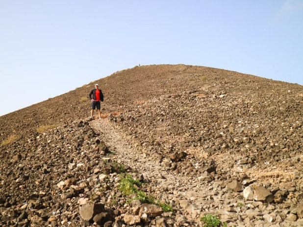 Ascenso al volcán Calderón Hondo