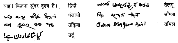 NCERT Solutions for Class 6 Hindi Chapter 5 अक्षरों का महत्व 1