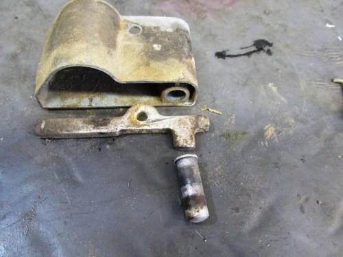 Seat Latch Mechanism Parts Detail
