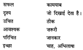 NCERT Solutions for Class 6 Hindi Chapter 5 अक्षरों का महत्व 2.1