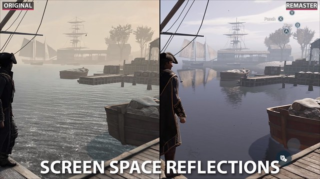 Assassin's Creed 3 Remaster - Screen Space Reflections