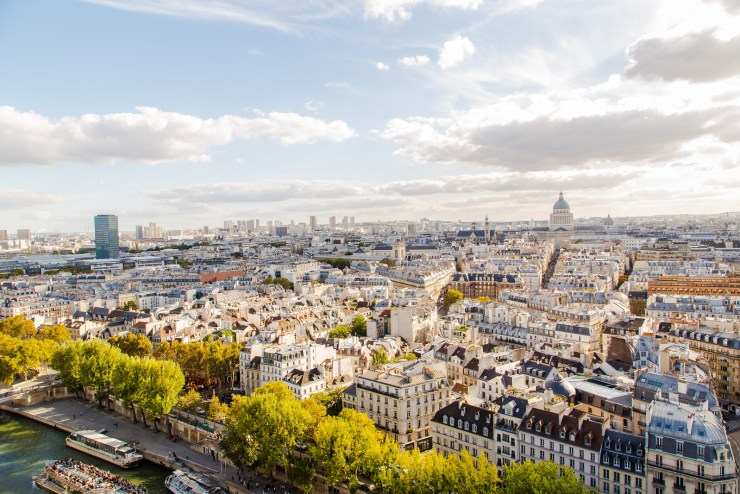 Paris from Notre-Dame Tower