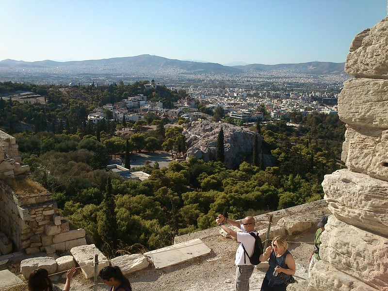 Outosego at the Acropolis