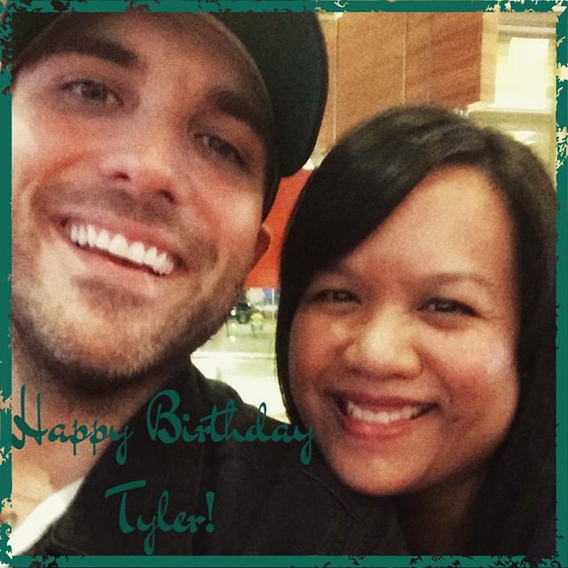 Happy Birthday Tyler!
