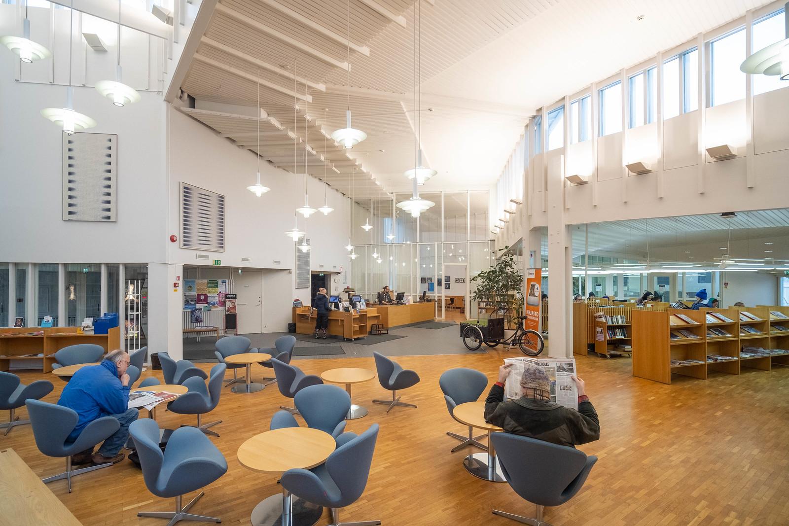 * Vallila Library, Helsinki