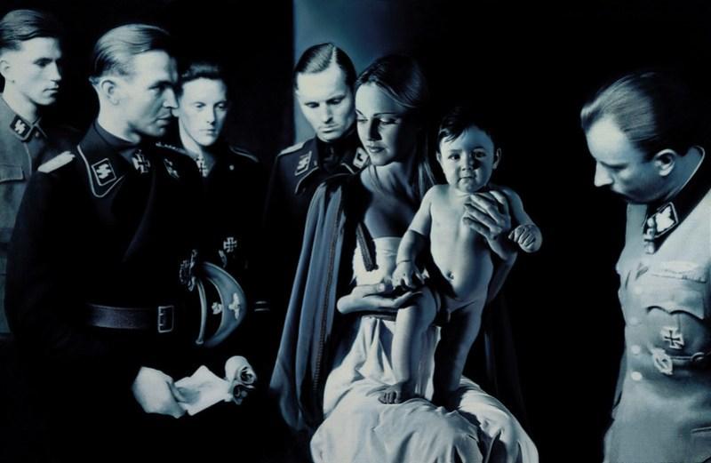 Epifanía (adoración de los magos) - Gottfried Helnwein