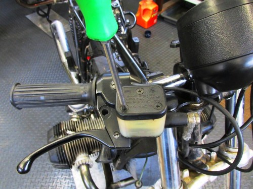 Remove Front Brake Fluid Reservoir Cover