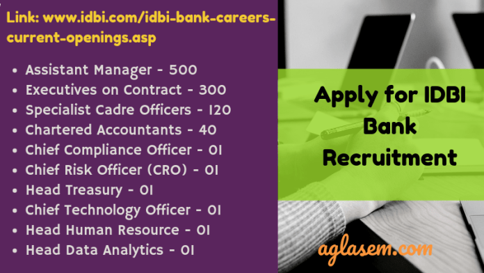 IBDI Bank Recruitment 2019