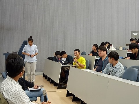 詹皓中導演到場與觀衆近距離對談