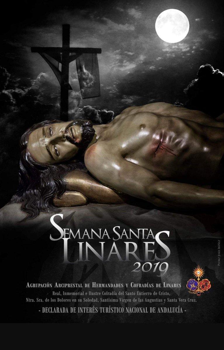 Cartel de la Semana Santa Linares 2019