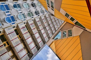 "Rotterdam's ""Pencil"" & ""Cube Houses"""