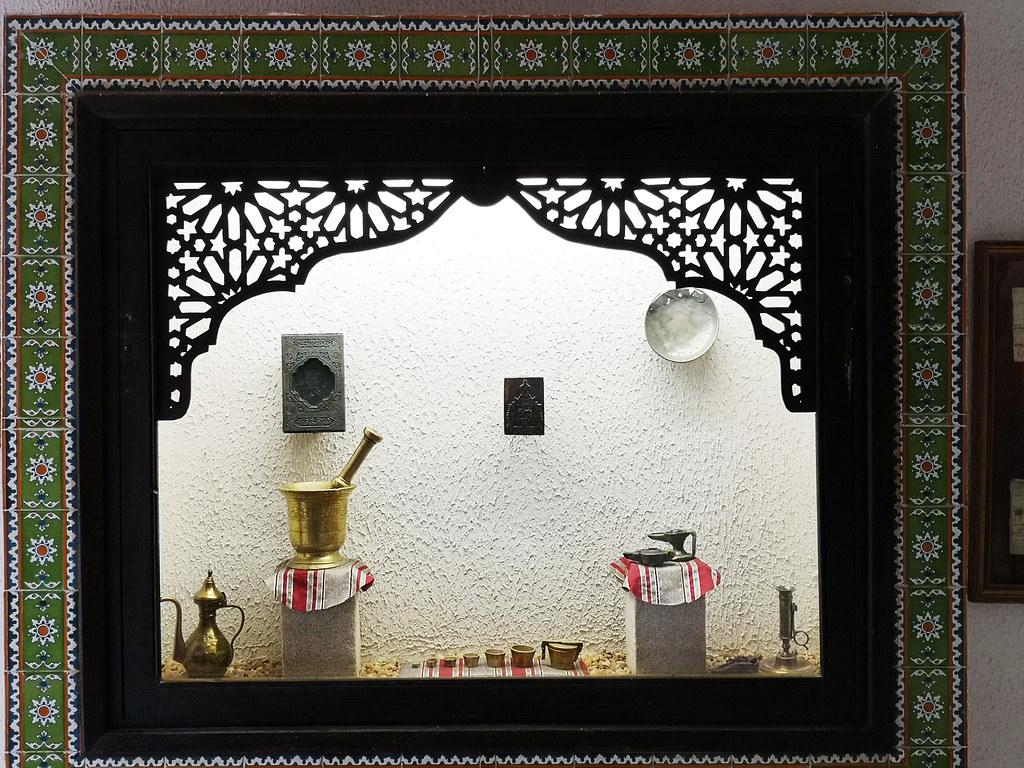 Tozeur recipientes de metales Museo Dar Cherait Etnografico Tunez 07