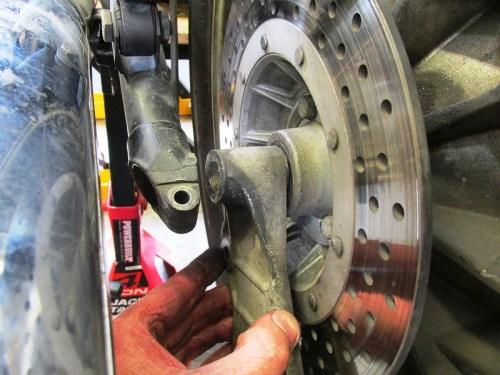 Brake Torque Arm Plate Orientation