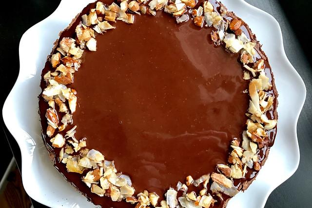 Chocolate Coconut Macaroon Cake - 28