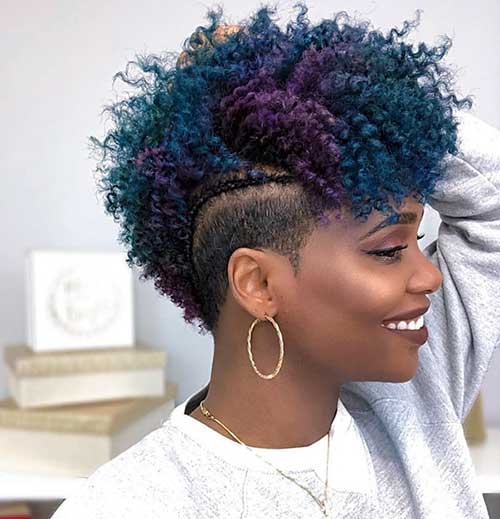 New Short Curly Hairstyles For Black Women 2019 Fashions Eve