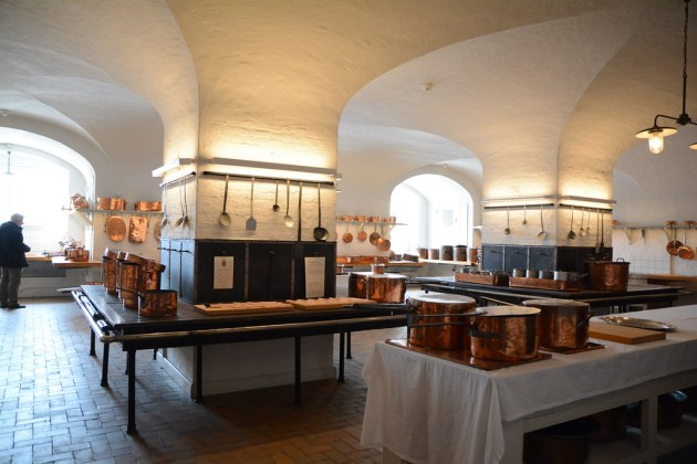 The Royal Kitchen at Christiansborg Castle