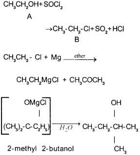 Plus Two Chemistry Chapter Wise Previous Questions Chapter 11 Alcohols, Phenols and Ethers 17