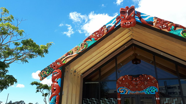 Nga Whetu Marama, Maori Meeting House, NZ