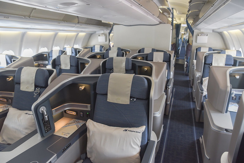 Philippine Airlines new tri-class A330 business class